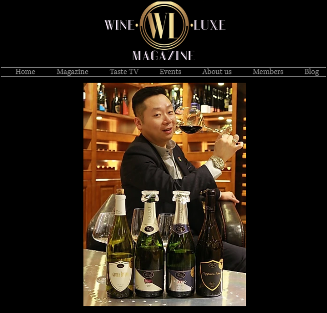 << Wine Luxe Magazine >> Interview with Terence wong ———8 Years Passion for Wine 八年磨劍 一腔熱忱